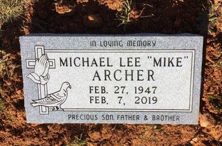 "ARCHER, MICHAEL LEE ""MIKE"" - Hempstead County, Arkansas   MICHAEL LEE ""MIKE"" ARCHER - Arkansas Gravestone Photos"