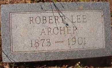 ARCHER, ROBERT LEE - Hempstead County, Arkansas | ROBERT LEE ARCHER - Arkansas Gravestone Photos