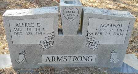 NUNLEY ARMSTRONG, NORANZO - Hempstead County, Arkansas | NORANZO NUNLEY ARMSTRONG - Arkansas Gravestone Photos