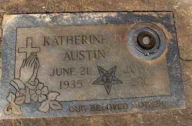 AUSTIN, KATHERINE - Hempstead County, Arkansas | KATHERINE AUSTIN - Arkansas Gravestone Photos