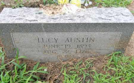 ROBERSON AUSTIN, LUCY - Hempstead County, Arkansas | LUCY ROBERSON AUSTIN - Arkansas Gravestone Photos