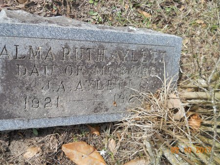 AYLETT, ALMA RUTH - Hempstead County, Arkansas | ALMA RUTH AYLETT - Arkansas Gravestone Photos