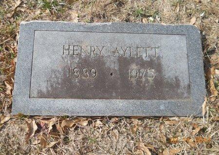 AYLETT, HENRY - Hempstead County, Arkansas | HENRY AYLETT - Arkansas Gravestone Photos
