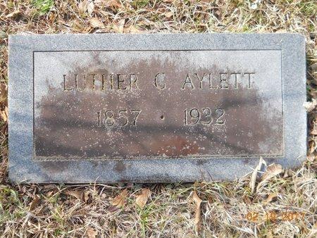 AYLETT, LUTHER C - Hempstead County, Arkansas | LUTHER C AYLETT - Arkansas Gravestone Photos