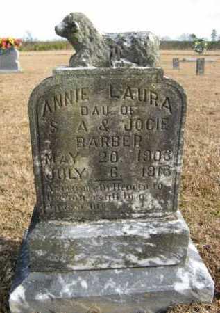 BARBER, ANNIE LAURA - Hempstead County, Arkansas | ANNIE LAURA BARBER - Arkansas Gravestone Photos