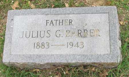 BARBER, JULIUS G - Hempstead County, Arkansas   JULIUS G BARBER - Arkansas Gravestone Photos