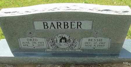 BARBER, ORZO - Hempstead County, Arkansas   ORZO BARBER - Arkansas Gravestone Photos