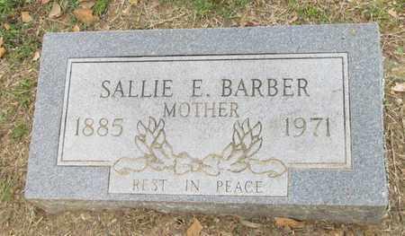 BARBER, SALLIE E - Hempstead County, Arkansas | SALLIE E BARBER - Arkansas Gravestone Photos