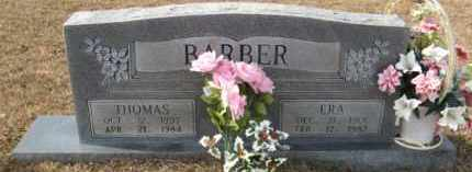 BARBER, ERA - Hempstead County, Arkansas   ERA BARBER - Arkansas Gravestone Photos