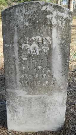 BATT (VETERAN), JOHN - Hempstead County, Arkansas | JOHN BATT (VETERAN) - Arkansas Gravestone Photos