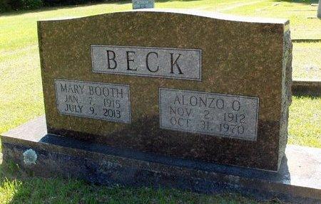 BOOTH BECK, MARY - Hempstead County, Arkansas | MARY BOOTH BECK - Arkansas Gravestone Photos