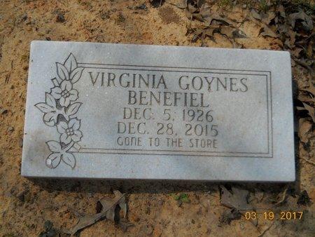 BENEFIEL, VIRGINIA - Hempstead County, Arkansas | VIRGINIA BENEFIEL - Arkansas Gravestone Photos