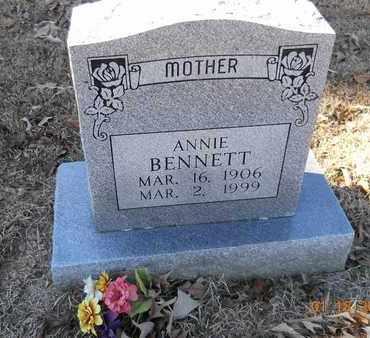 BENNETT, ANNIE - Hempstead County, Arkansas | ANNIE BENNETT - Arkansas Gravestone Photos