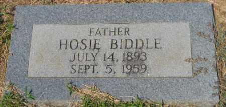 BIDDLE, HOSIE - Hempstead County, Arkansas   HOSIE BIDDLE - Arkansas Gravestone Photos