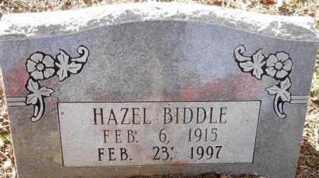 BIDDLE, HAZEL - Hempstead County, Arkansas | HAZEL BIDDLE - Arkansas Gravestone Photos