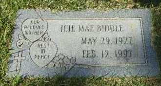 BIDDLE, ICIE MAE - Hempstead County, Arkansas   ICIE MAE BIDDLE - Arkansas Gravestone Photos