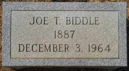 BIDDLE, JOE T - Hempstead County, Arkansas   JOE T BIDDLE - Arkansas Gravestone Photos
