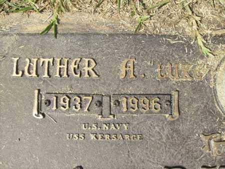 "BIDDLE, LUTHER A ""LUKE""   (CLOSEUP) - Hempstead County, Arkansas   LUTHER A ""LUKE""   (CLOSEUP) BIDDLE - Arkansas Gravestone Photos"