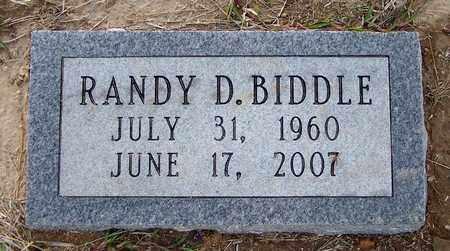 BIDDLE, RANDY D - Hempstead County, Arkansas | RANDY D BIDDLE - Arkansas Gravestone Photos