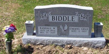 BIDDLE, RANDALL W - Hempstead County, Arkansas | RANDALL W BIDDLE - Arkansas Gravestone Photos
