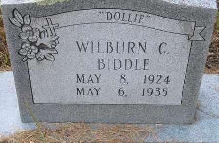"BIDDLE, WILBURN C ""DOLLIE"" - Hempstead County, Arkansas | WILBURN C ""DOLLIE"" BIDDLE - Arkansas Gravestone Photos"