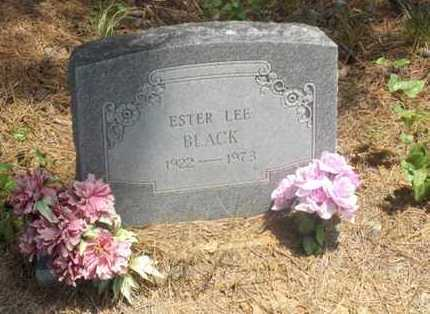 BLACK, ESTER LEE - Hempstead County, Arkansas | ESTER LEE BLACK - Arkansas Gravestone Photos