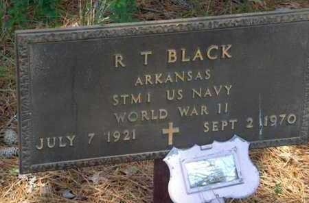 BLACK (VETERAN WWII), R T - Hempstead County, Arkansas | R T BLACK (VETERAN WWII) - Arkansas Gravestone Photos