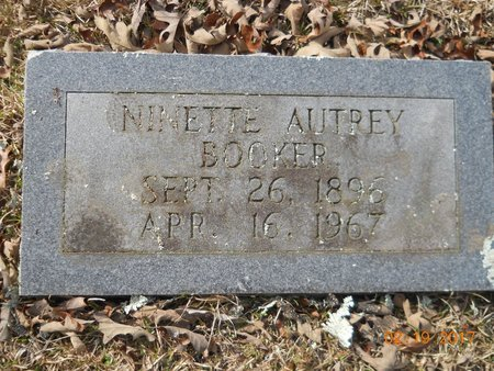 BOOKER, NINETTE AUTREY - Hempstead County, Arkansas | NINETTE AUTREY BOOKER - Arkansas Gravestone Photos
