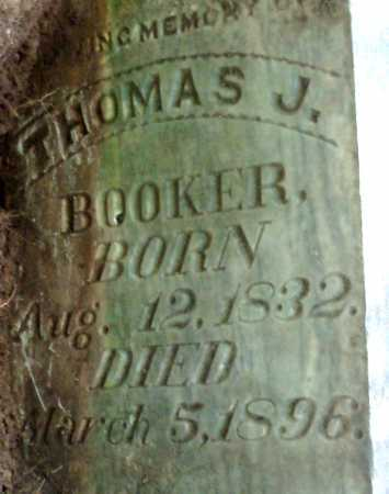 BOOKER, THOMAS J (CLOSEUP) - Hempstead County, Arkansas | THOMAS J (CLOSEUP) BOOKER - Arkansas Gravestone Photos