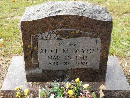 BOYCE, ALICE M - Hempstead County, Arkansas | ALICE M BOYCE - Arkansas Gravestone Photos