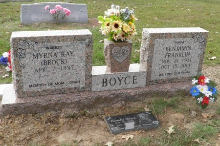 BOYCE, BENJAMIN FRANKLIN - Hempstead County, Arkansas | BENJAMIN FRANKLIN BOYCE - Arkansas Gravestone Photos
