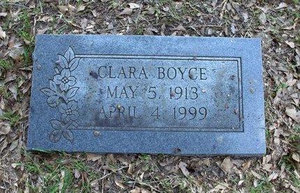 BOYCE, CLARA - Hempstead County, Arkansas   CLARA BOYCE - Arkansas Gravestone Photos
