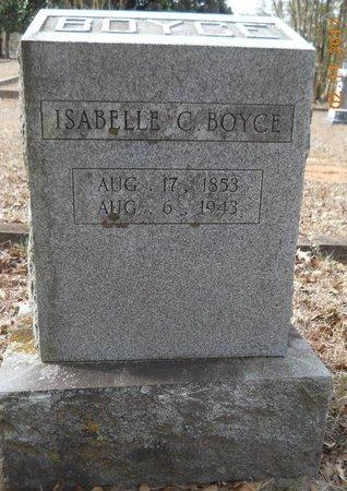BOYCE, ISABELLE C - Hempstead County, Arkansas | ISABELLE C BOYCE - Arkansas Gravestone Photos