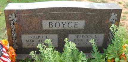 BOYCE, REBECCA L - Hempstead County, Arkansas | REBECCA L BOYCE - Arkansas Gravestone Photos