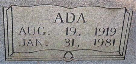 BRADLEY, ADA (CLOSEUP) - Hempstead County, Arkansas   ADA (CLOSEUP) BRADLEY - Arkansas Gravestone Photos