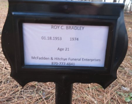 BRADLEY, ROY C. - Hempstead County, Arkansas | ROY C. BRADLEY - Arkansas Gravestone Photos