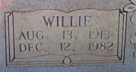 BRADLEY, WILLIE (CLOSEUP) - Hempstead County, Arkansas | WILLIE (CLOSEUP) BRADLEY - Arkansas Gravestone Photos
