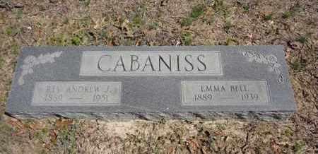 CABANISS, EMMA BELL - Hempstead County, Arkansas | EMMA BELL CABANISS - Arkansas Gravestone Photos