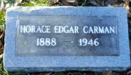 CARMAN, HORACE EDGAR - Hempstead County, Arkansas | HORACE EDGAR CARMAN - Arkansas Gravestone Photos