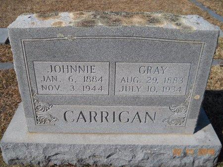 CARRIGAN, JOHNNIE - Hempstead County, Arkansas   JOHNNIE CARRIGAN - Arkansas Gravestone Photos