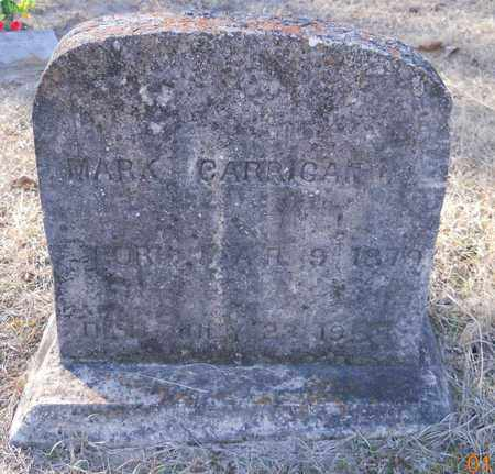 CARRIGAN, MARK - Hempstead County, Arkansas | MARK CARRIGAN - Arkansas Gravestone Photos