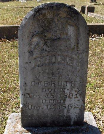 CARRUTH, BRICE - Hempstead County, Arkansas | BRICE CARRUTH - Arkansas Gravestone Photos