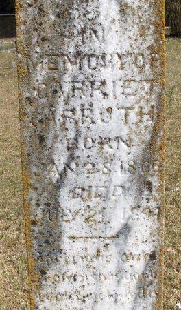 CARRUTH, CARRIE T - Hempstead County, Arkansas | CARRIE T CARRUTH - Arkansas Gravestone Photos