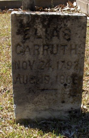 CARRUTH, ELIAS - Hempstead County, Arkansas | ELIAS CARRUTH - Arkansas Gravestone Photos