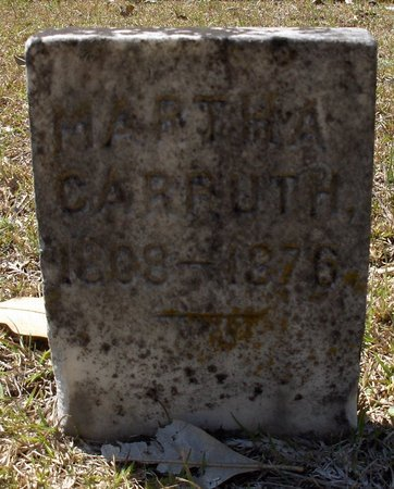 CARRUTH, MARTHA M - Hempstead County, Arkansas | MARTHA M CARRUTH - Arkansas Gravestone Photos