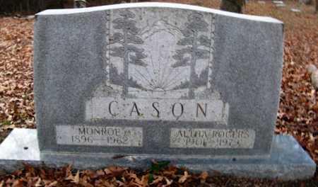 ROGERS CASON, ALTHA - Hempstead County, Arkansas | ALTHA ROGERS CASON - Arkansas Gravestone Photos