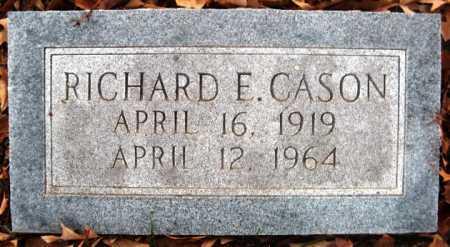 CASON, RICHARD E - Hempstead County, Arkansas | RICHARD E CASON - Arkansas Gravestone Photos