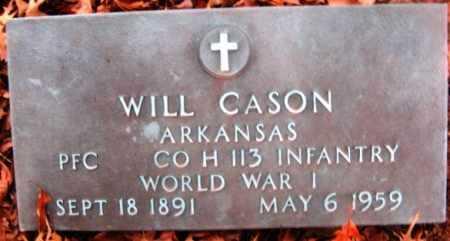 CASON (VETERAN WWI), WILL - Hempstead County, Arkansas | WILL CASON (VETERAN WWI) - Arkansas Gravestone Photos