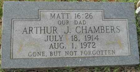 CHAMBERS, ARTHUR J - Hempstead County, Arkansas   ARTHUR J CHAMBERS - Arkansas Gravestone Photos