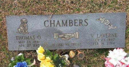 CHAMBERS, THOMAS O. - Hempstead County, Arkansas | THOMAS O. CHAMBERS - Arkansas Gravestone Photos